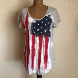 Flag Tunic. Size XL. Great condition.